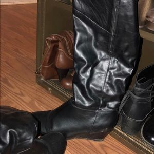 Shoes - Winter leather boots